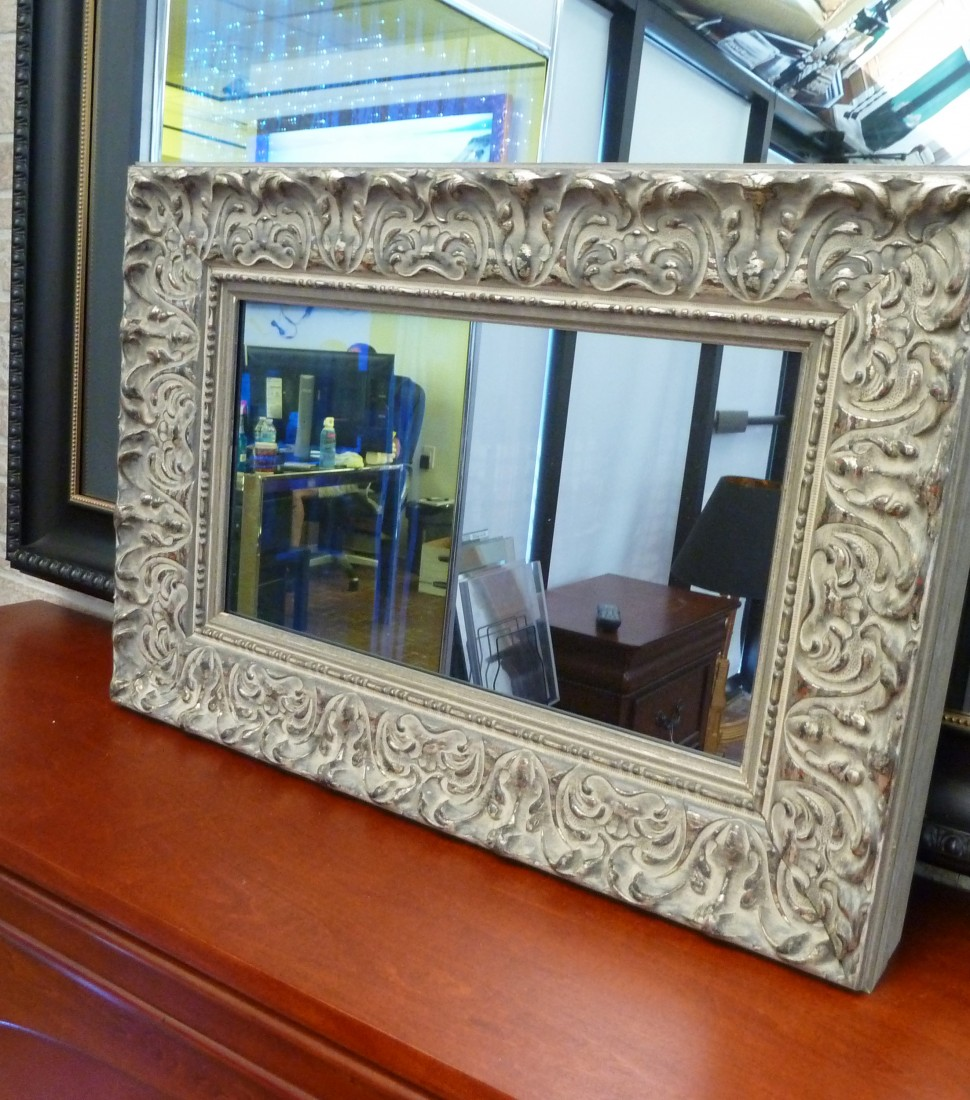 Mirrored tv frame