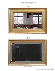 Framed Mirror Tv Diagram