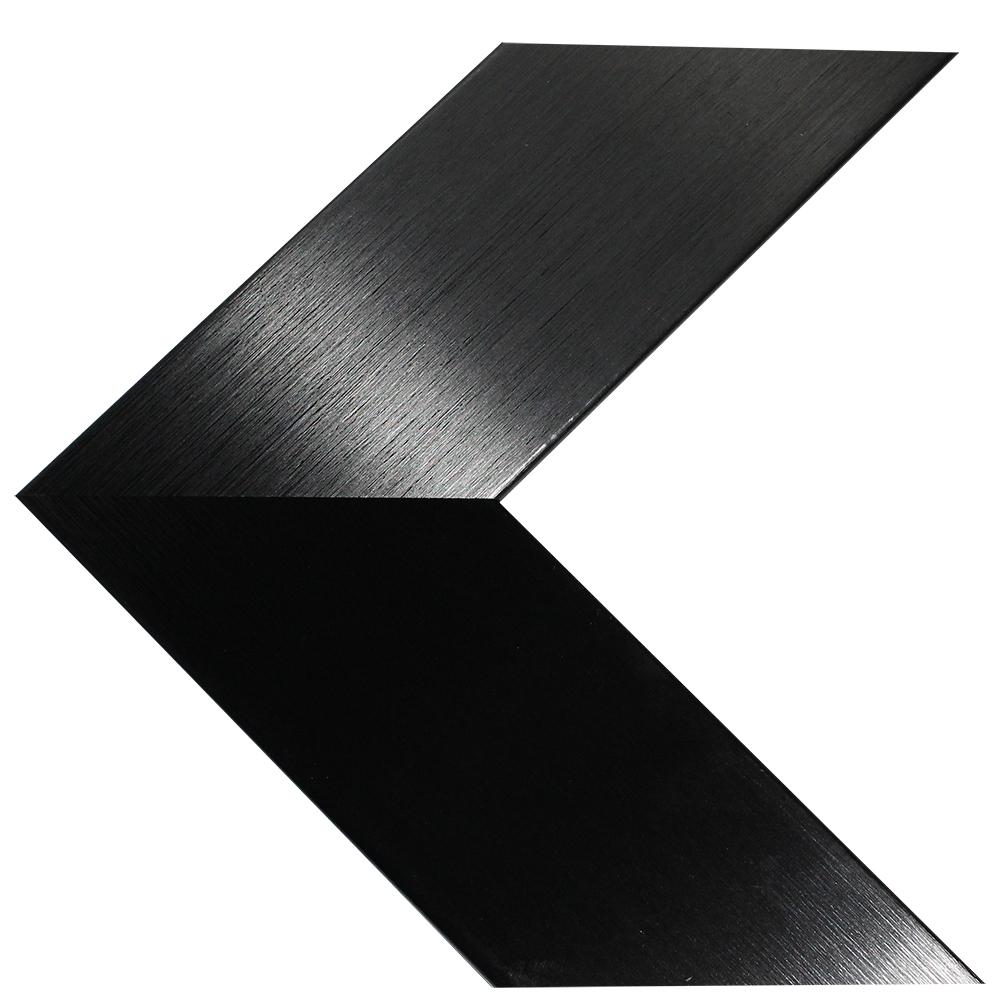 55″ Framed Mirror TV – Brushed Black – 549650