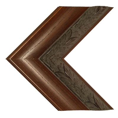 60″ Framed Mirror TV – Banister Brown – 769042