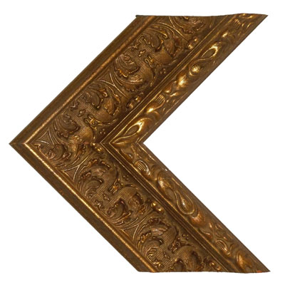 60″ Framed Mirror TV – Biltmore Gold 2 – 682830