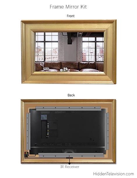 Frame Mirror Kit Diagram