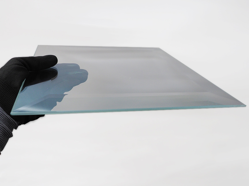 12″x12″ Beveled Dielectric Mirror Sample – 1/4″ Thickness