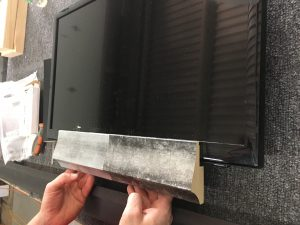 Bezel For Hidden Television How to frame your own TV