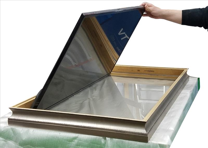 How To Frame Your TV Glass