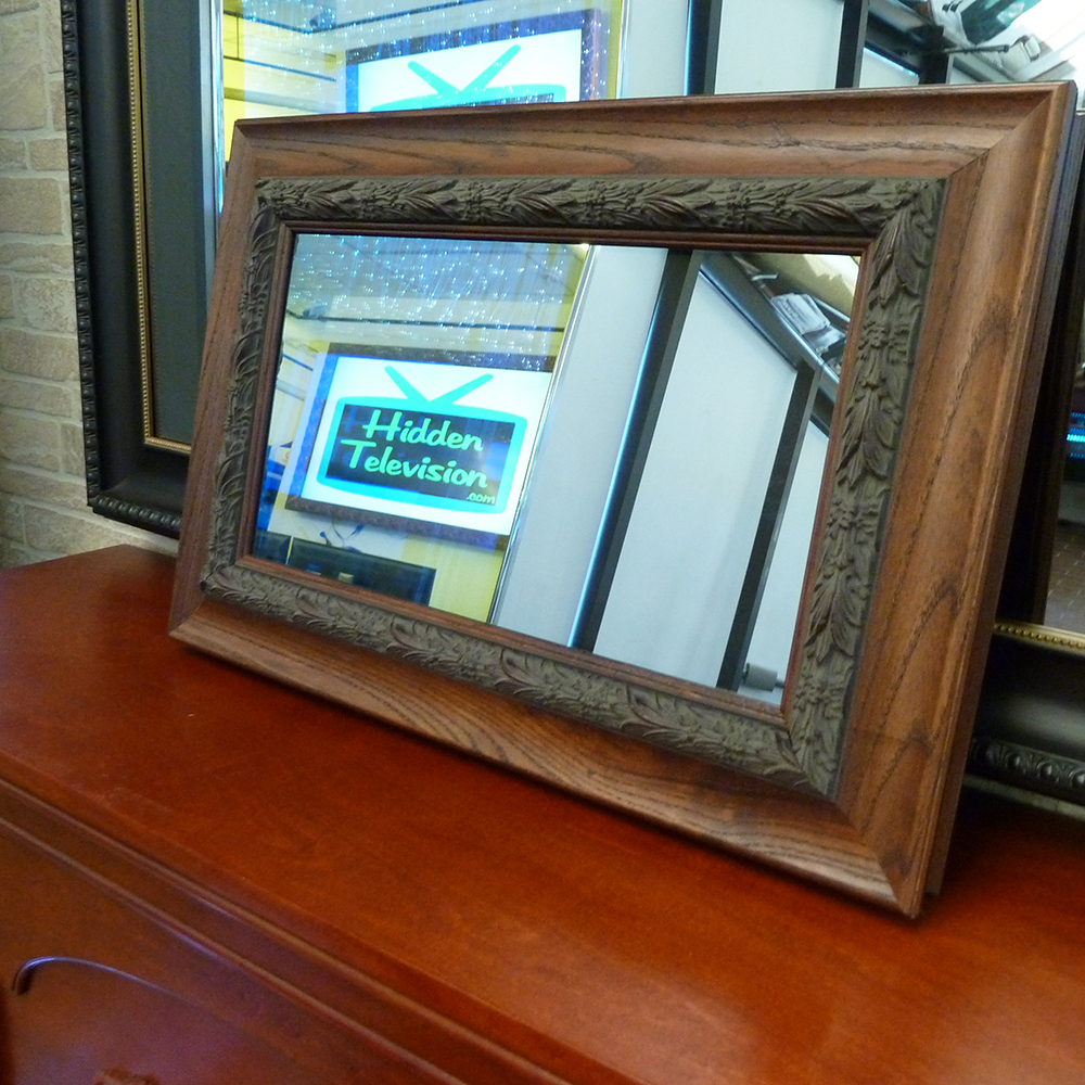 Framed Mirror Tv Hidden Television