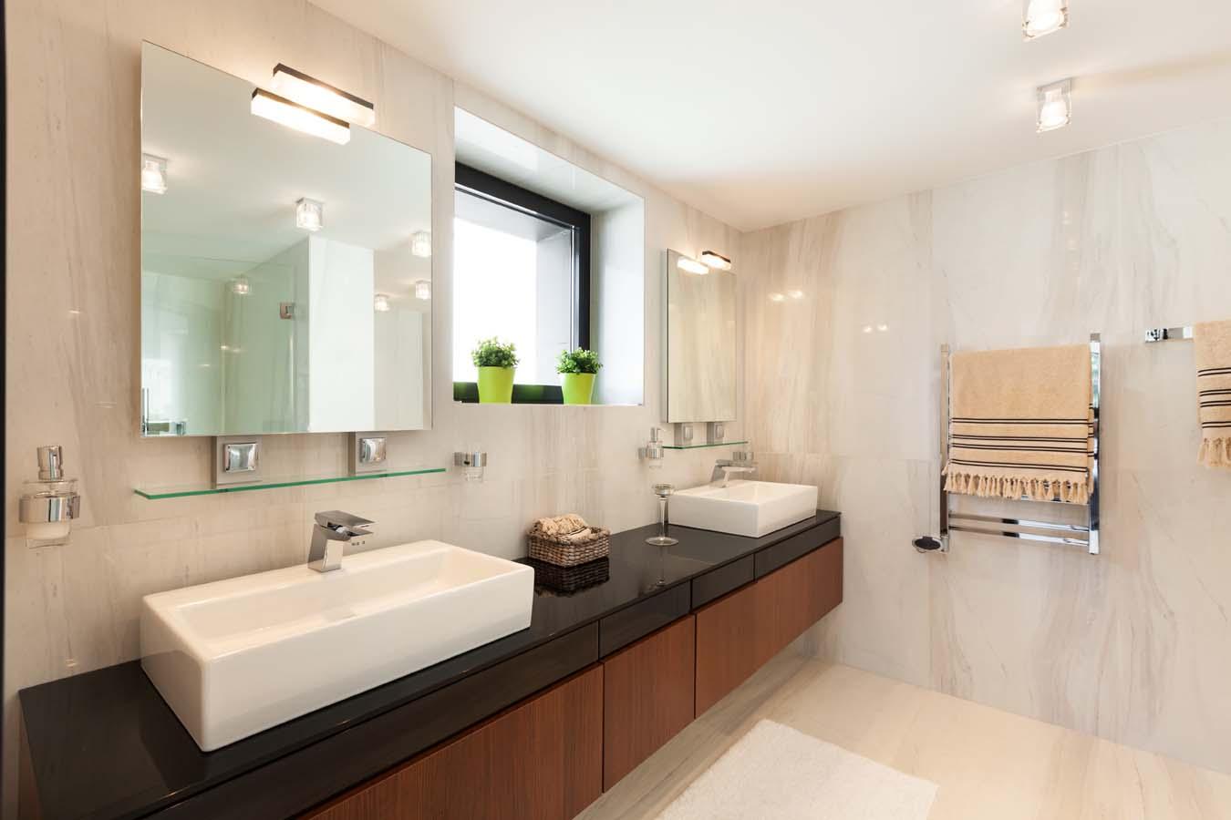 Vanity Mirror TV   Order Vanishing Television For Your Bathroom