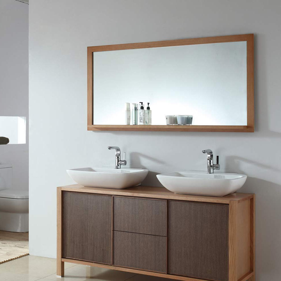 Vanity Mirror Tv Contemporary Bathroom