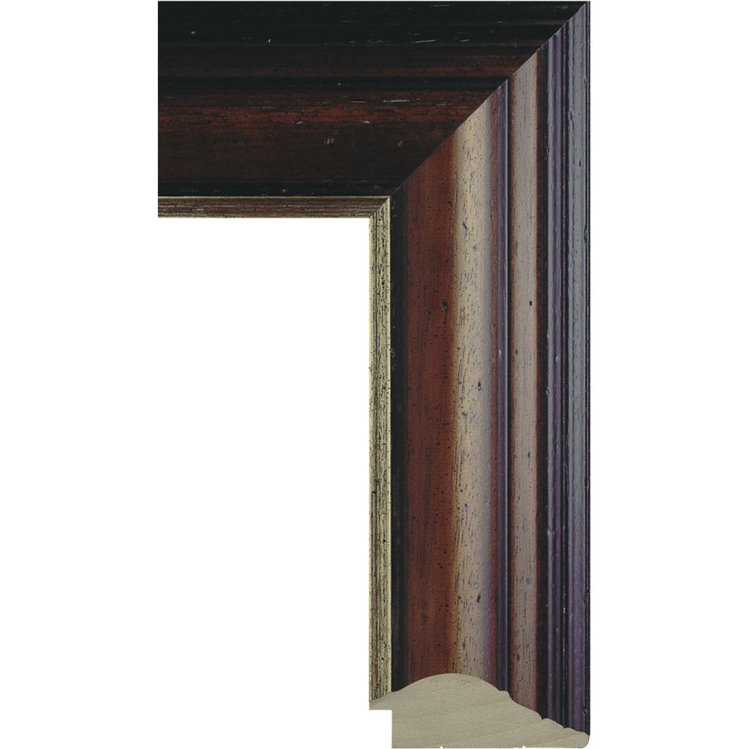50″ Framed Mirror TV – Malabar Brown – 755943