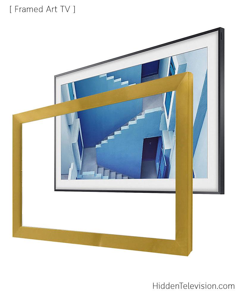"""65"""" Framed Art TV"""