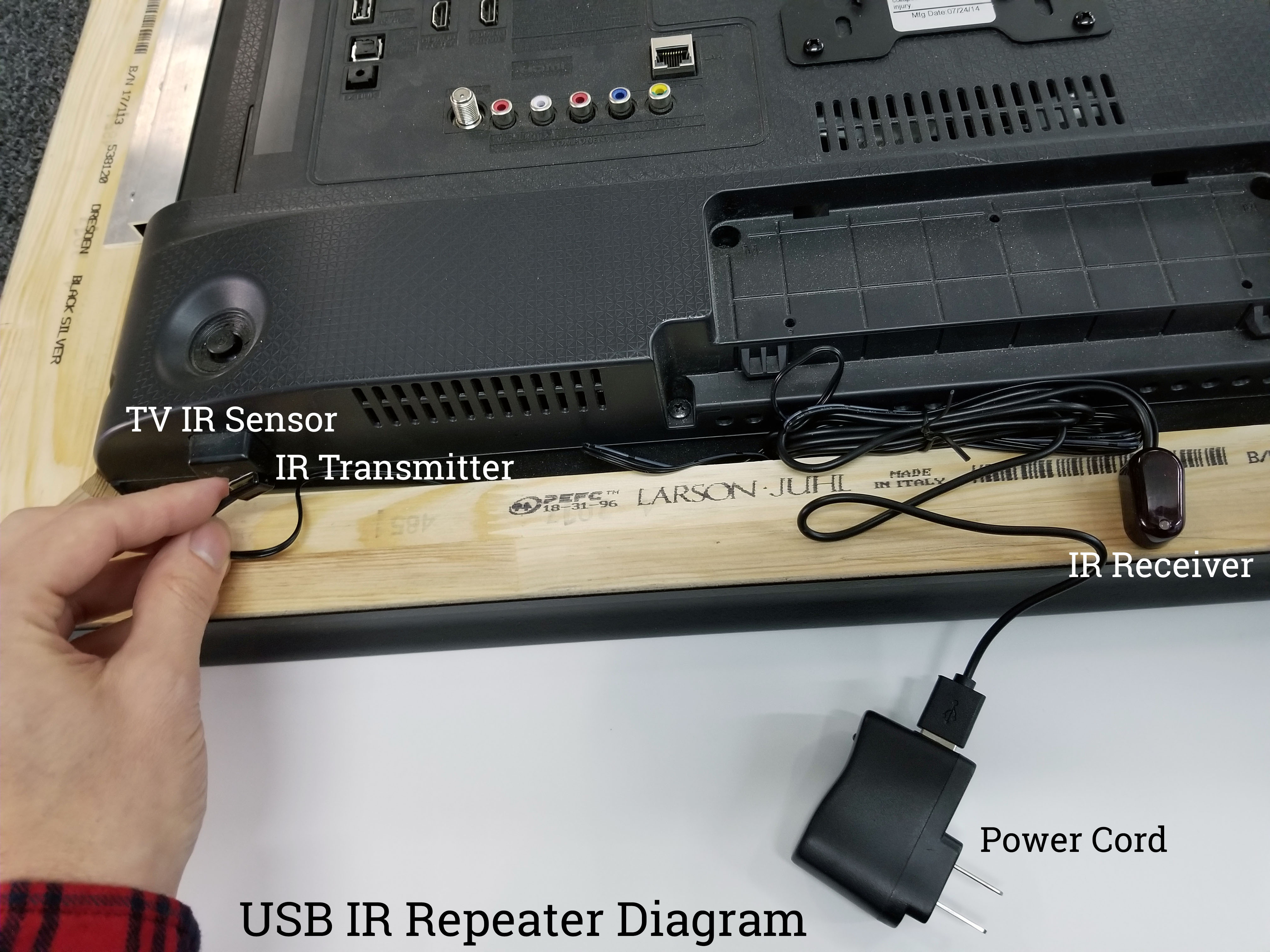ir repeater instructions