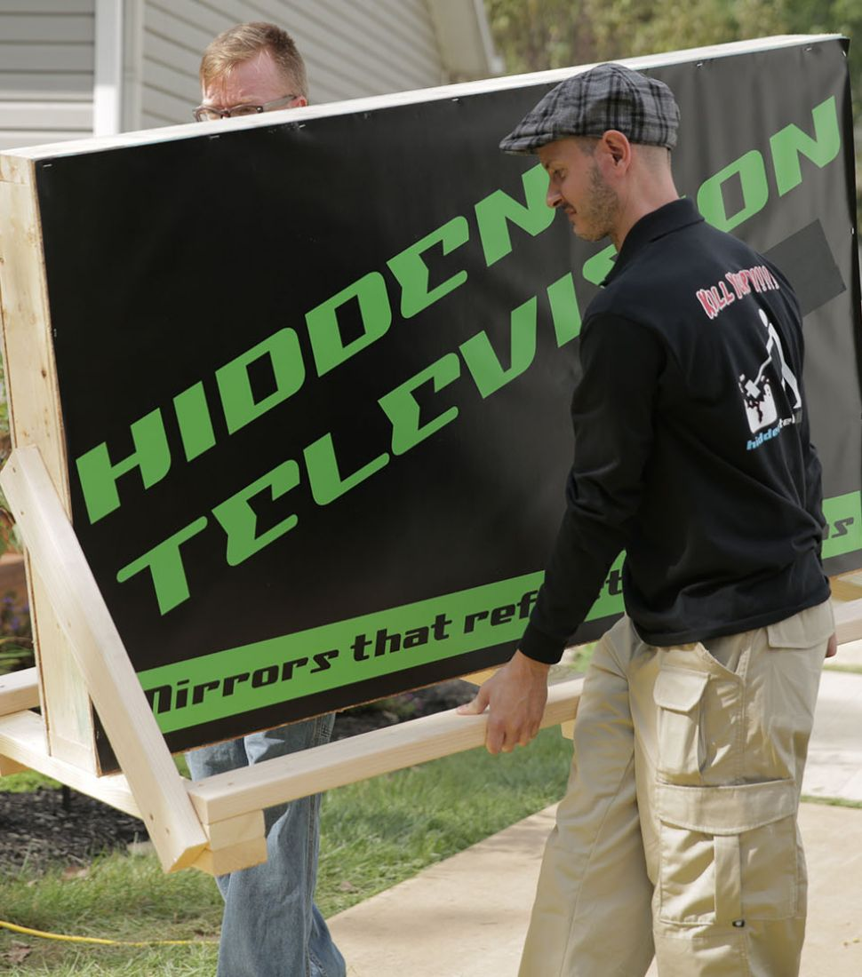 Unboxing Hidden Television