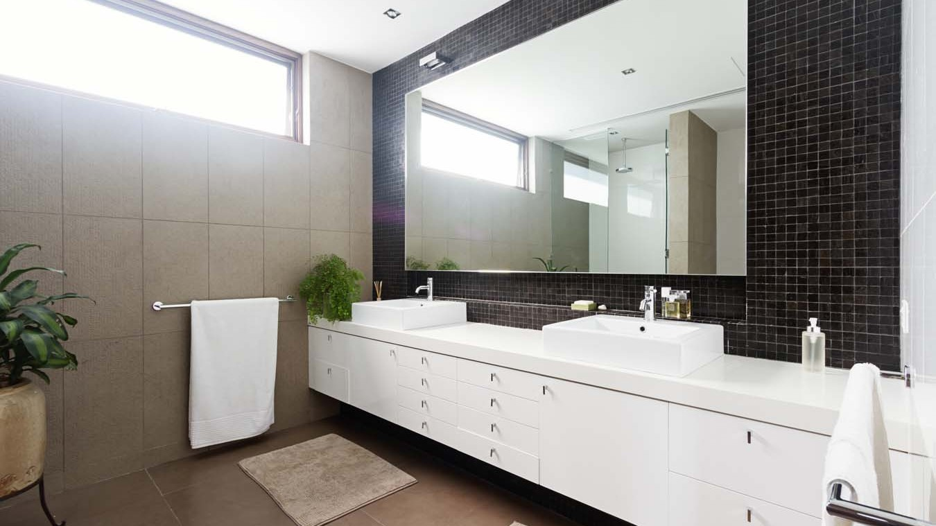 Stylish Bathroom Mirror TV