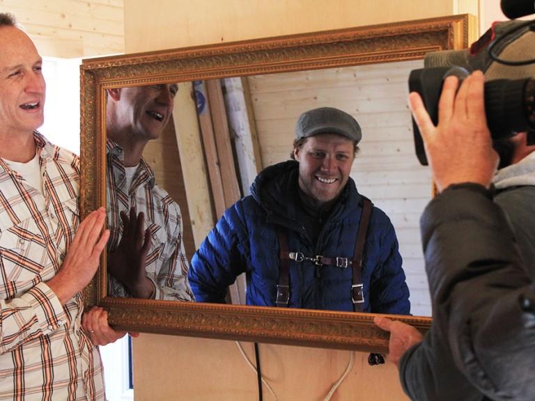 Hidden Television on Tiny House Nation Gallatin TN
