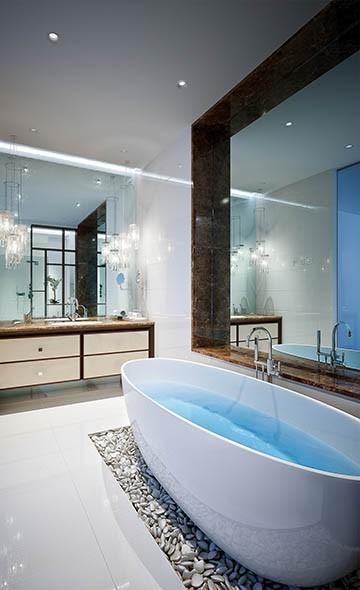 Vanity TV Mirror In Spa