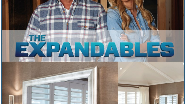 Expandables Mirror TV