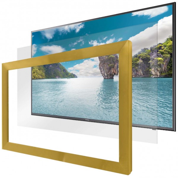 Hidden Television Mirror TV Image Example