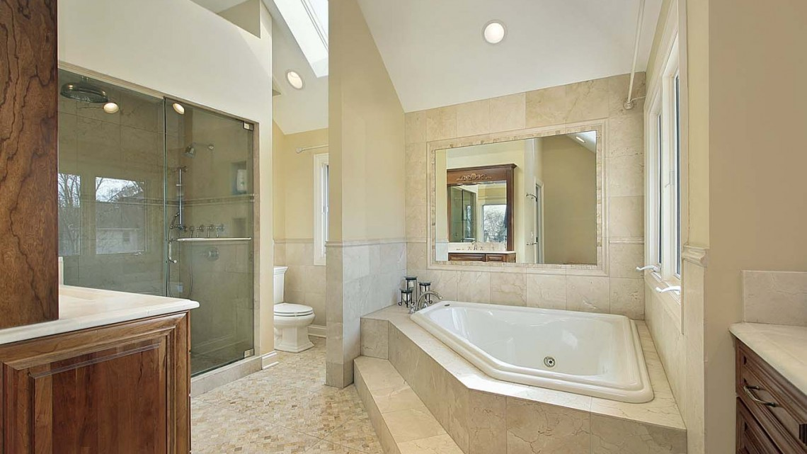 vanity-tv-mirror-hot-tub-in-bathroom