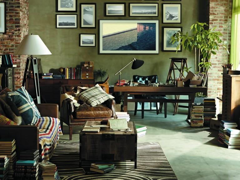 office-study-samsung-framed-art-tv