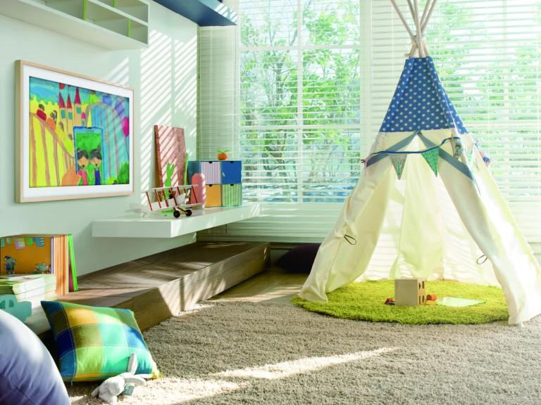 child-room-samsung-framed-art-tv