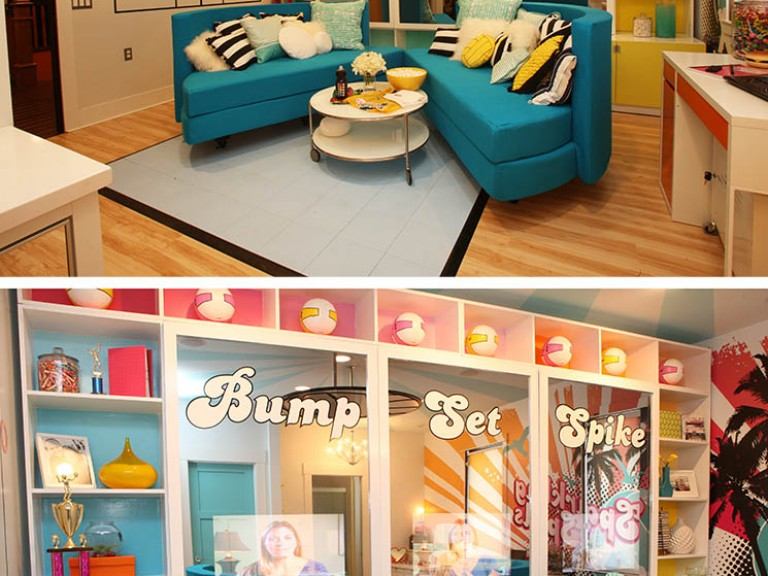 Vanity TV Mirror on Extreme Makeover Home Edition